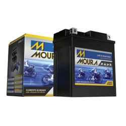 Bateria Moura Motos MA5-D 12v 4ah Honda Pop / biz / CG 125/150 / Titan / XLR / Bros / NXR / YAMAHA