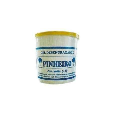Gel Desengraxante Pinheiro 2,5kg Limpa mãos e peças